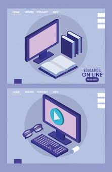Desktops computer bildung online-tech
