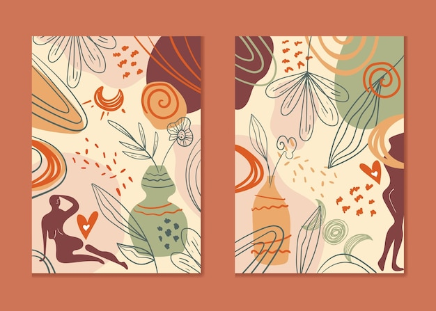 Detaillierte boho-cover