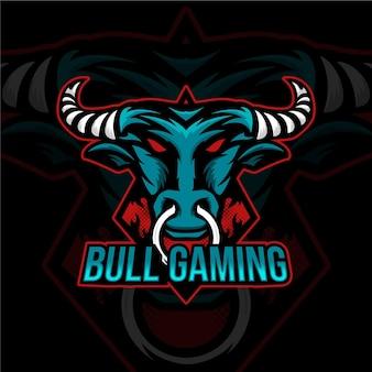 Detaillierte esport-gaming-logo-vorlage
