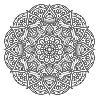 Detailliertes mandala