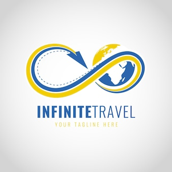 Detailliertes reiselogo