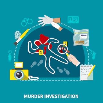 Detective flat zusammensetzung