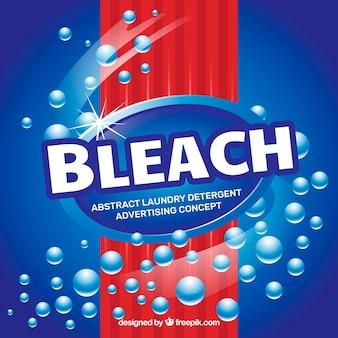 Detergenz hintergrund design
