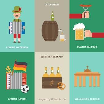 Deutsch traditionen gesetzt