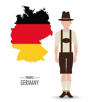 Deutschland. kultur-symbol.