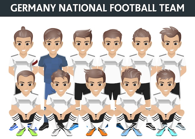 Deutschland national football team für internationales turnier