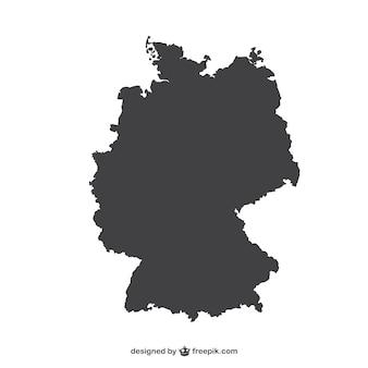 Deutschland silhouette