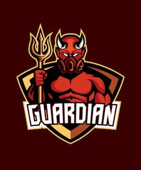 Devil guardian e sports-logo