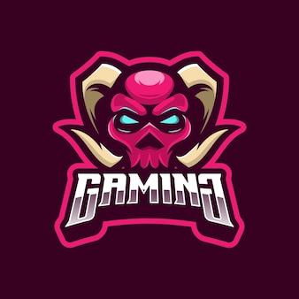 Devil logo konzept