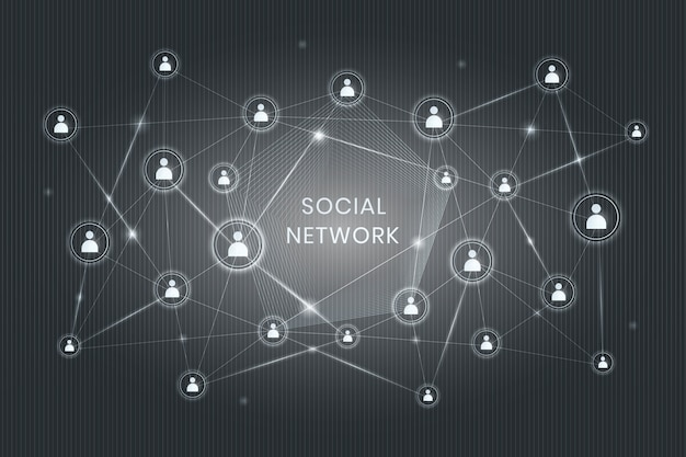 Dezentrales soziales netzwerk
