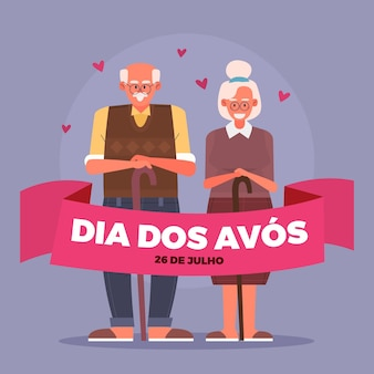 Dia dos avós illustration