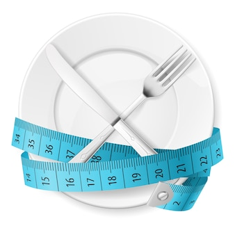 Diät-konzept