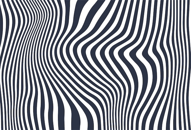 Diagonale linien des zickzacks bewegen hintergrund wellenartig