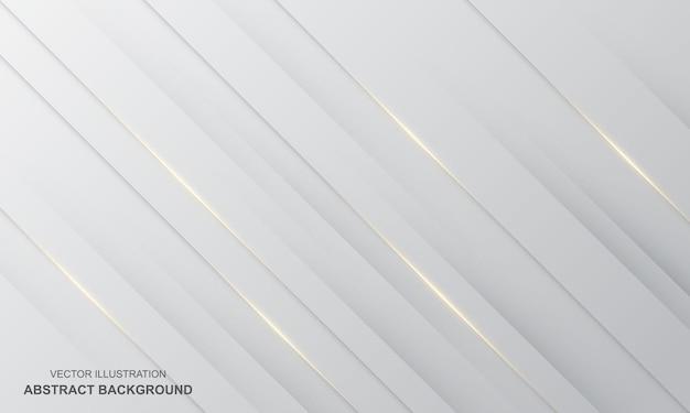 Diagonaler abstrakter hintergrund weiß moderne farbe