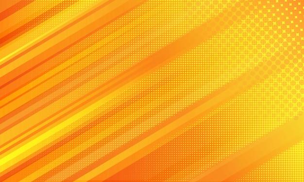 Diagonaler geometrischer gestreifter hintergrund mit halbton detailliert