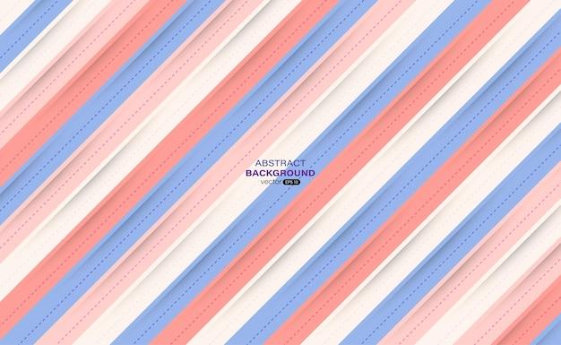 Diagonaler papierschnitt moderner pastellfarbener abstrakter hintergrund
