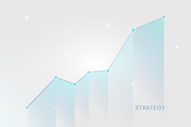 Diagramm des geschäftswachstums