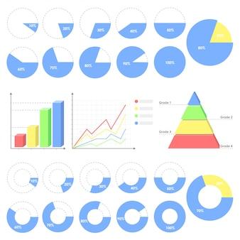 Diagramm-infografik