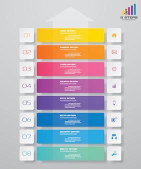 Diagramm infografiken element.