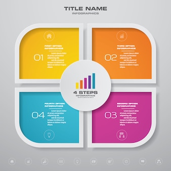 Diagramm infografiken element.