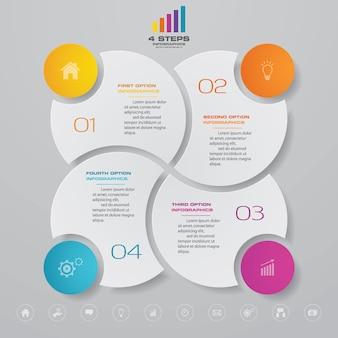 Diagramm infographik element