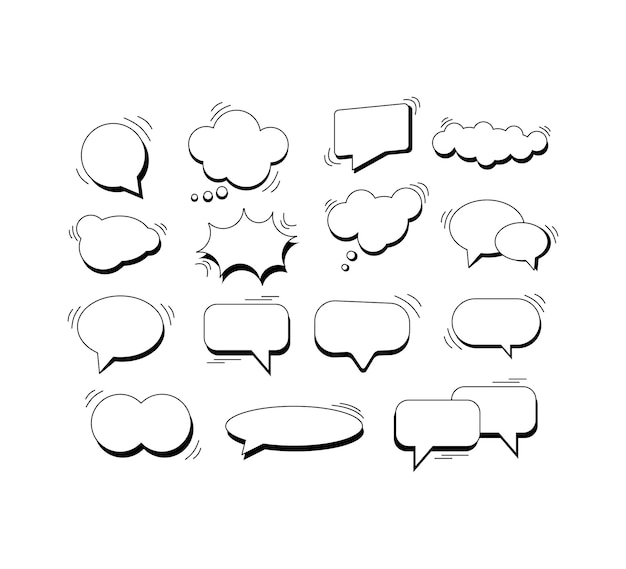 Dialogblase. isolierte hintergrundvektorillustration eps 10. comic-stil.