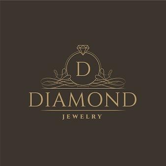 Diamant-schmuck-logo-design