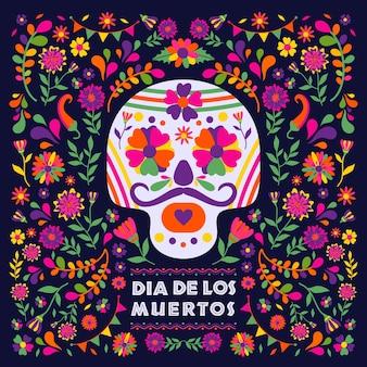 Dias de los muerto, mexikanische fiestafest.