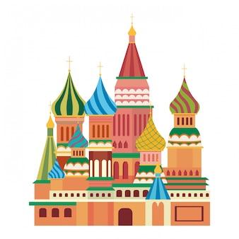 Die basilius-kathedrale von moskau design