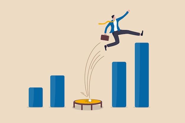 Die einnahmen erholen sich und erholen sich von der wirtschaftskrise