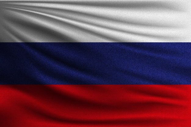 Die nationalflagge russlands.