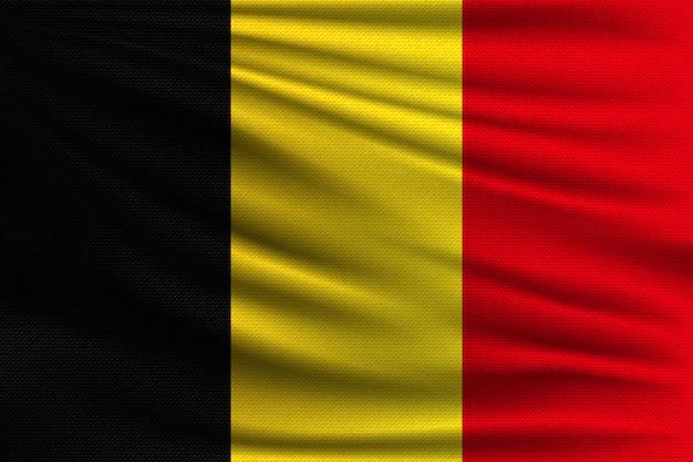 Die nationalflagge von belgien.