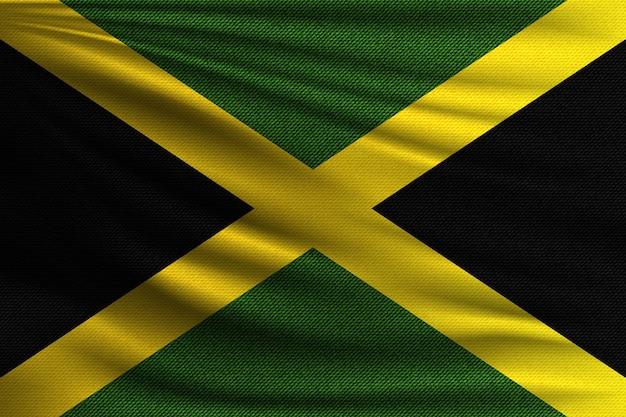 Die nationalflagge von jamaika.