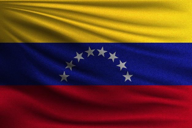 Die nationalflagge von venezuela.