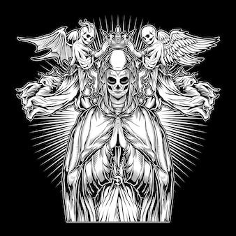 Die nonne, die kraft des betens