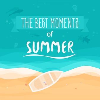 Die schönsten momente des sommerplakats