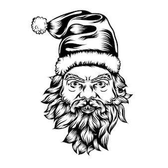 Die tattoos animation des flecks patrick mit der weihnachtsmütze