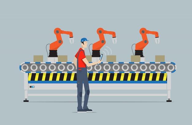 Die vierte industrielle revolution.