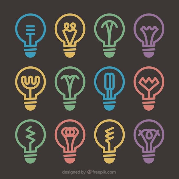 Diferents glühbirne designs