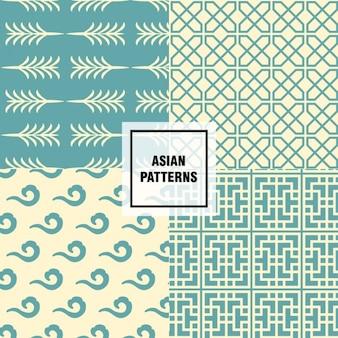 Differents asiatische muster