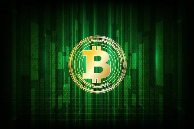 Digital bitcoin währungssymbol