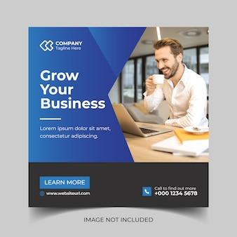 Digital business marketing social media post banner vorlage