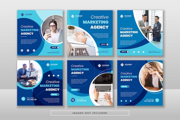 Digital business marketing social media post & web-banner