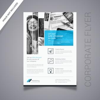 Digital flyer design