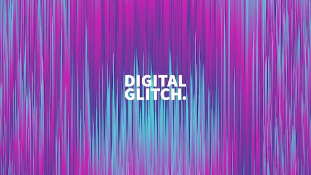 Digital-störschub-effekt-vektor-zusammenfassungs-hintergrund