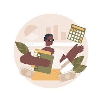 Digitale auditing-illustration