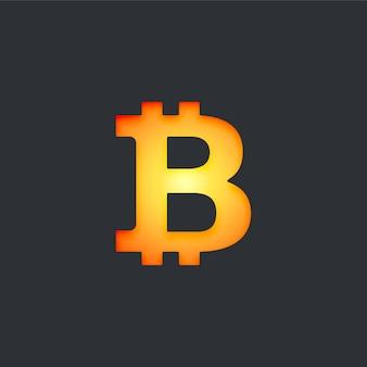 Digitale bitcoin-währung