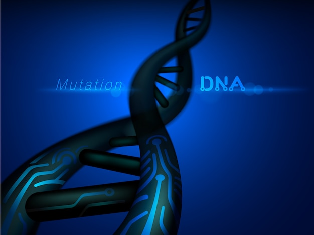 Digitale dna-mutationsstruktur