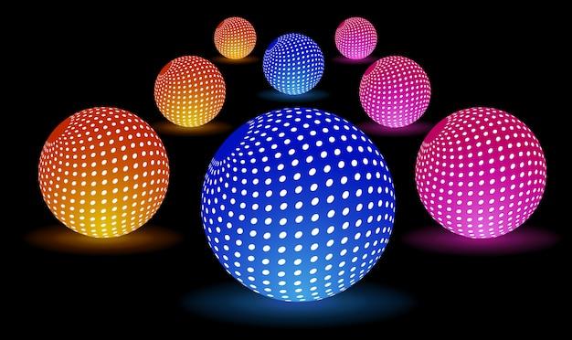 Digitale lichtkugeln