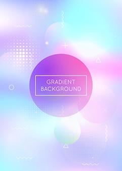Digitale textur. tech-vektor. holographischer hintergrund. blaues glänzendes design. sommerflyer. moderne flüssigkeit. dynamische punkte. weltraum-business-elemente. violette digitale textur
